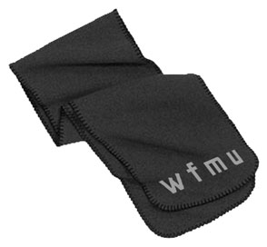 WFMU winter scarf
