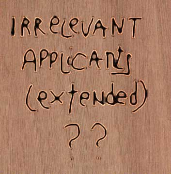 Irregular Applications (Externalized)?!