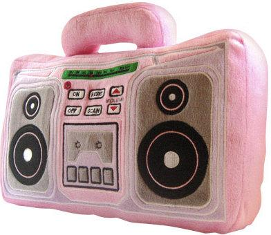 pillow radio. pillow radio