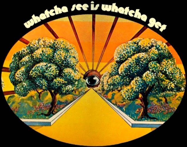 "Our cover image for the week is taken from The Dramatics 1st album, ""Whatcha See is Whatcha Get"" released in 1971 on Volt Records"