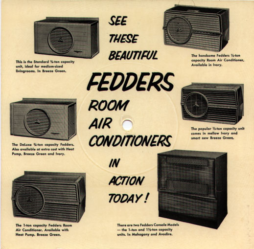 Bozo Fedders Air Conditioners Back