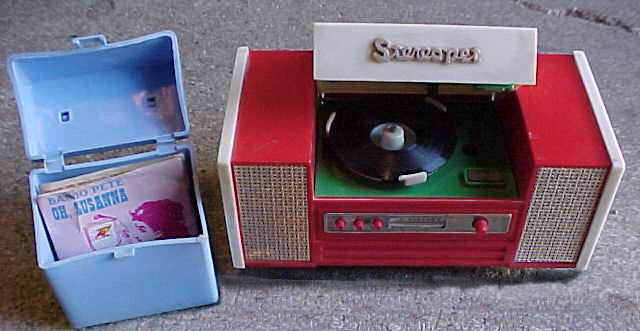 Mighty Tiny Toy Record Player Hi Fi Accessory